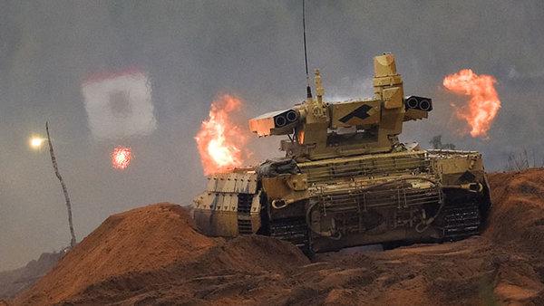 Русские «Терминаторы» будут действовать на нервы военным США в Сирии