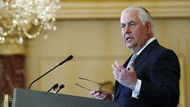 Тилерсон назвал ответственных за ядерную угрозу от КНДР