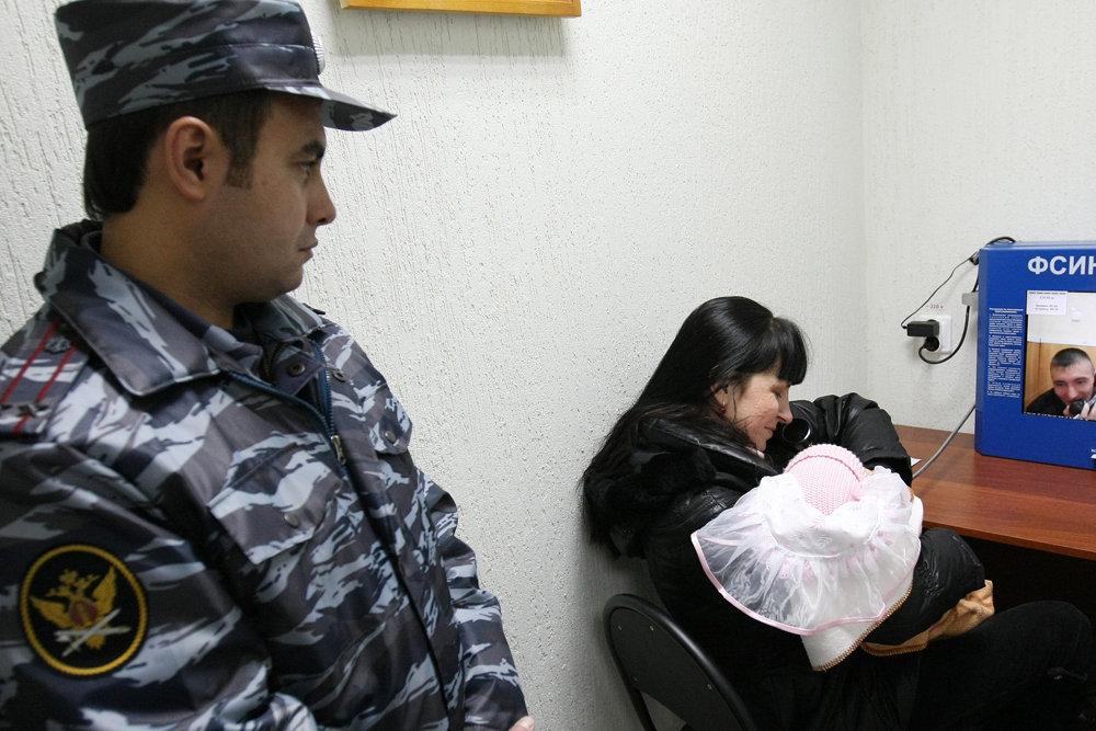 Новый закон разрешит женщинам- заключенным навещать детей
