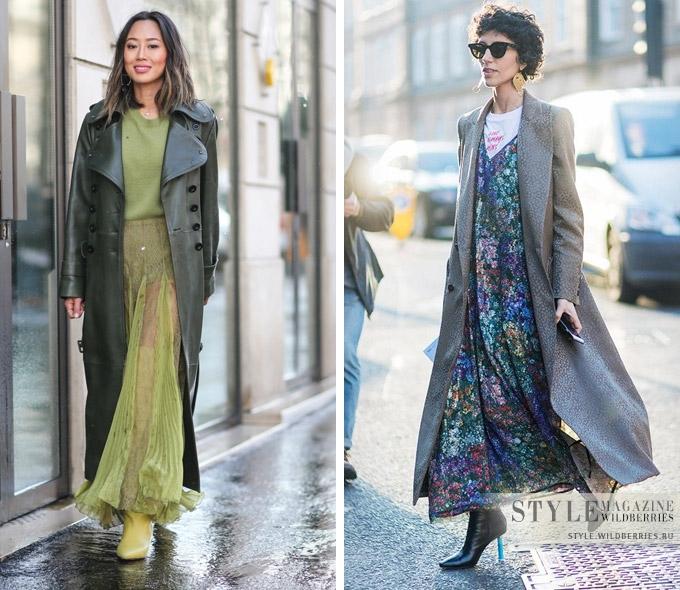 Как носить легкое платье макси уже сейчас?