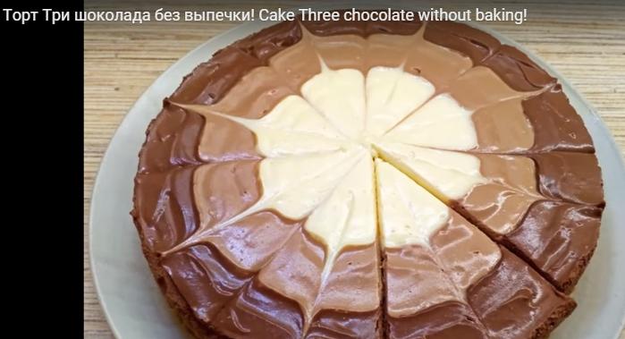 Шоколадные торты с пошагово без выпечки