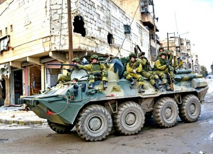 Российские военные отказали туркам в дальнейшем продвижении войск