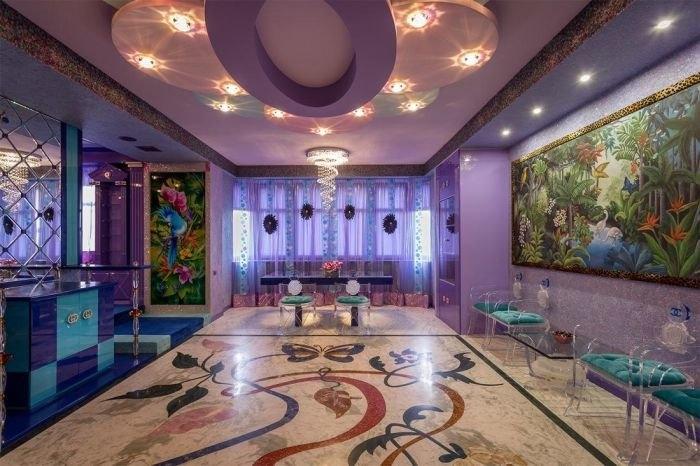 Киевская VIP-квартира с необычным дизайном (20 фото)