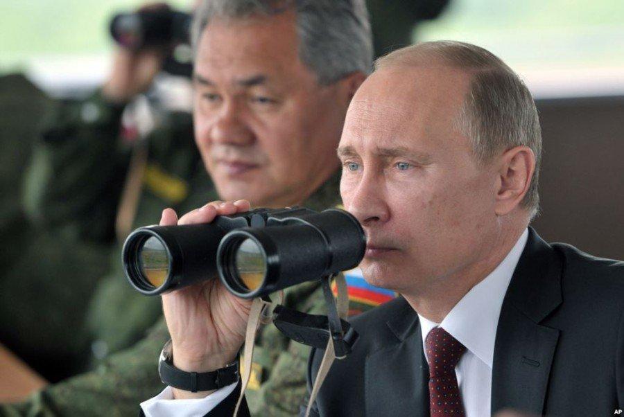 С ног на голову!!! Путин и опереточный министр Шойгу никогда не были на реальной войне