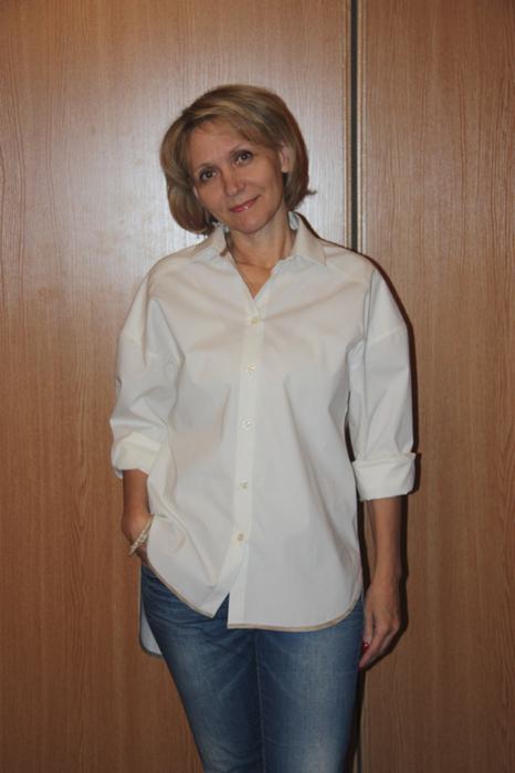 Шъём женскую рубашку
