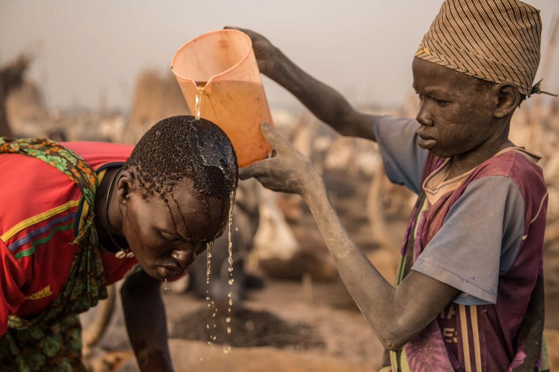 Жизнь суданских скотоводов