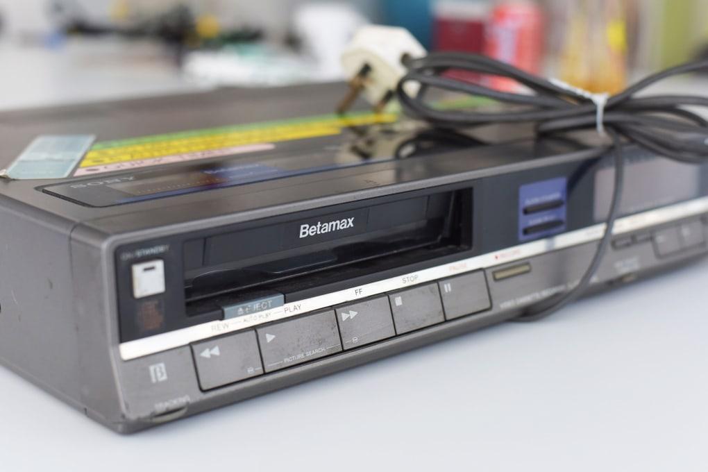 Sony Betamax-Museum of Failure