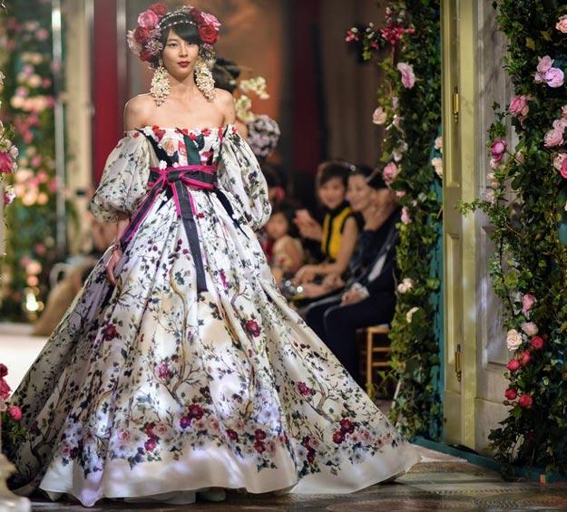 Кутюрный показ Dolce & Gabbana: Привет из Японии