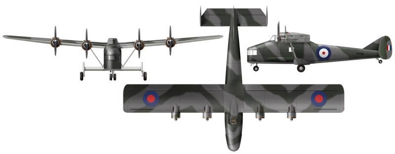 Один из самых странных самолётов войны. Британский небесный тихоход