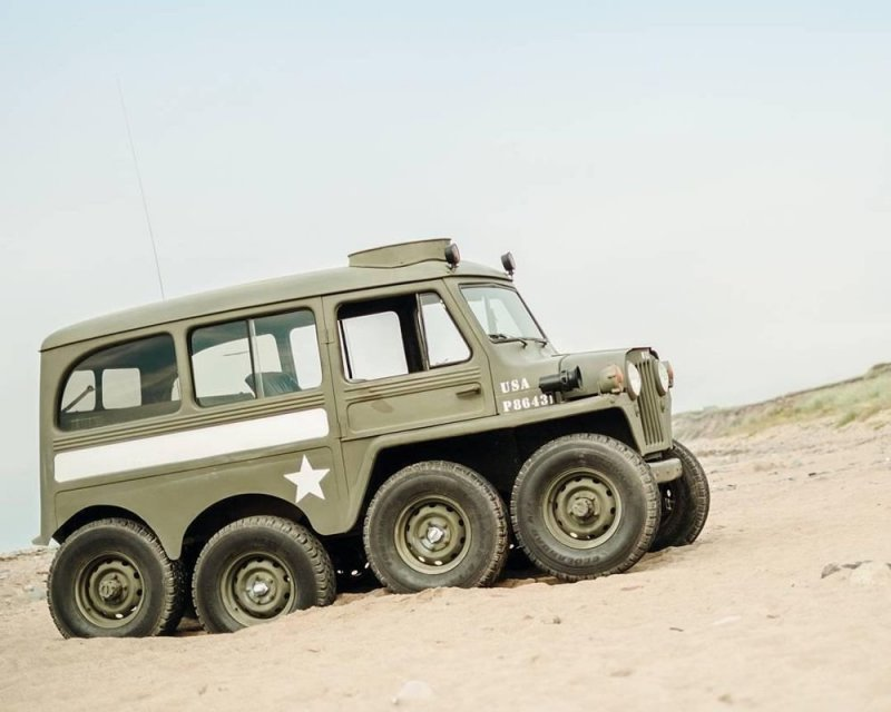 Willys 8x8 1953 «Centipede» - сороконожка
