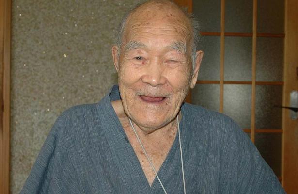 Японец Масадзо Нонака признан самым старым мужчиной на планете