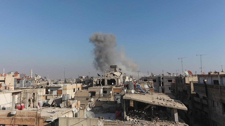 Террористы обстреляли южные кварталы Дамаска