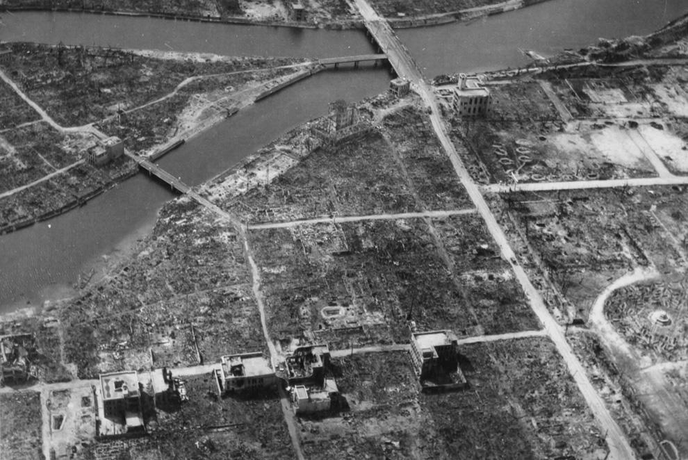 6 августа 1945 года американцы сбросили на Хиросиму атомную бомбу «Little Boy»