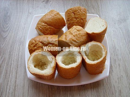 Яйцо в хлебе: необычный рецепт хлебных «стаканчиков»