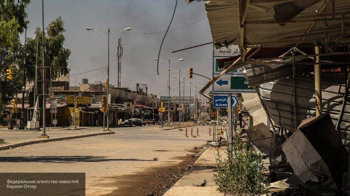 Правительственные силы Ирака заняли соборную мечеть в Старом Мосуле