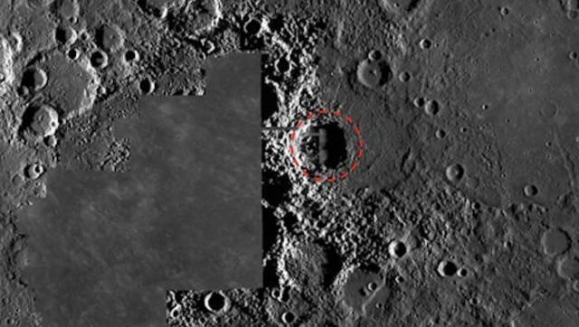 Базу инопланетян нашли на Меркурии