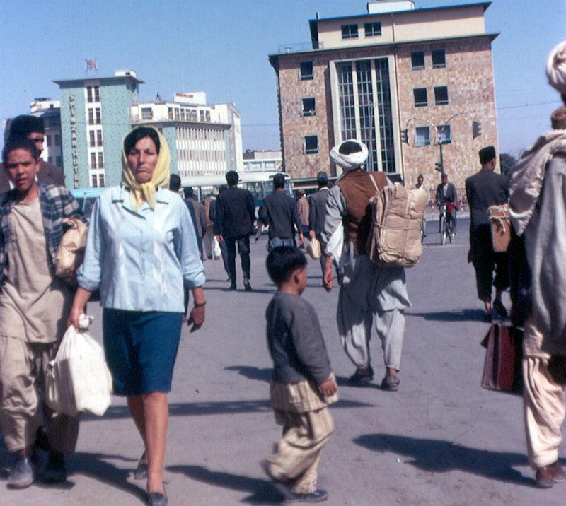Афганистан в 60-70-е годы на снимках французского фотографа