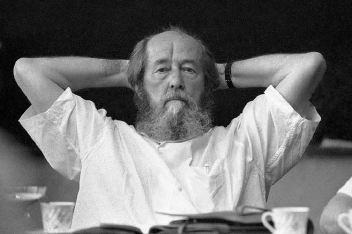 """Солженицын """"сидел"""" как на ку…"""