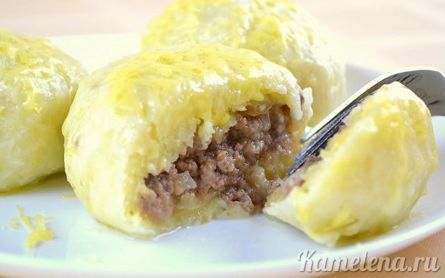 Очень вкусное и сытное блюдо - картофельные зразы с фаршем