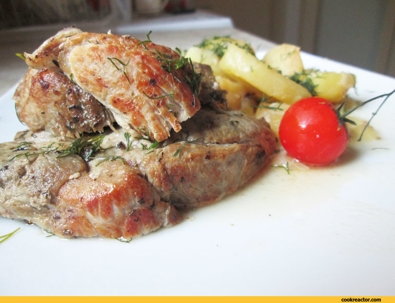 Мясо по-французски (в оригинале)