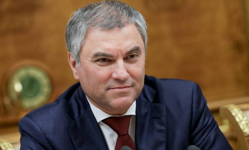 Вячеслав Володин пожертвовал…
