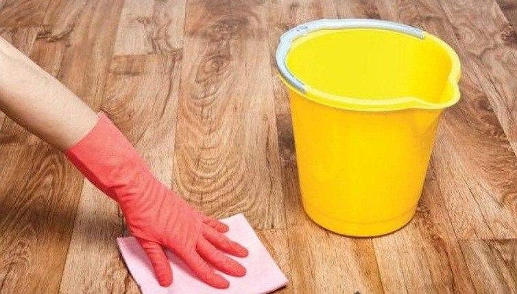 Как отмыть полы после ремонт…