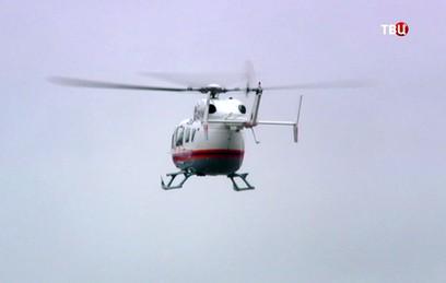 Как медицинская авиация Москвы спасает жизни людей