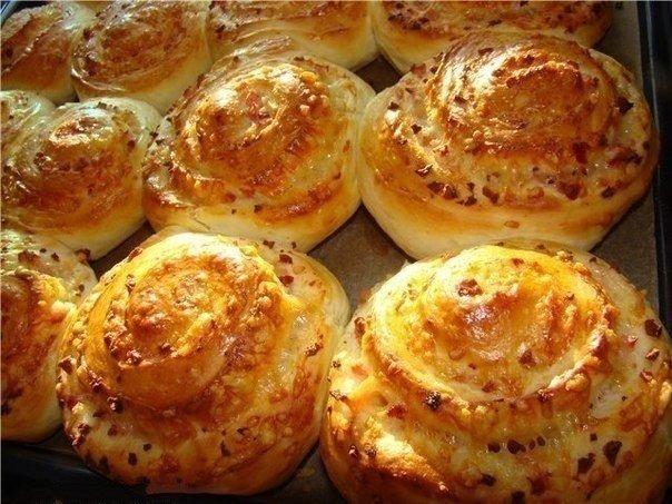 Ароматные сырные булочки — п…