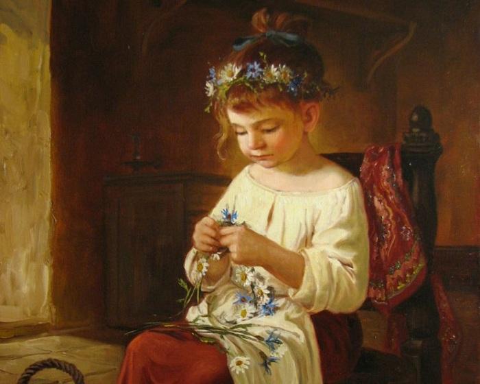 Как воспитывали дочерей в кр…