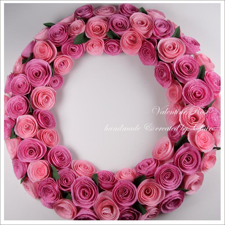 Спиральные розы своими руками