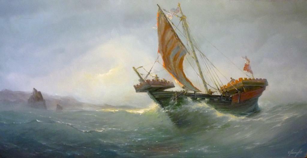 """""""Ужасно долгое путешествие"""" - плавание из Финского залива в Новгород"""