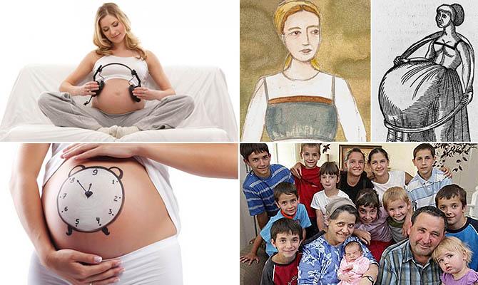 Интересные факты о беременно…