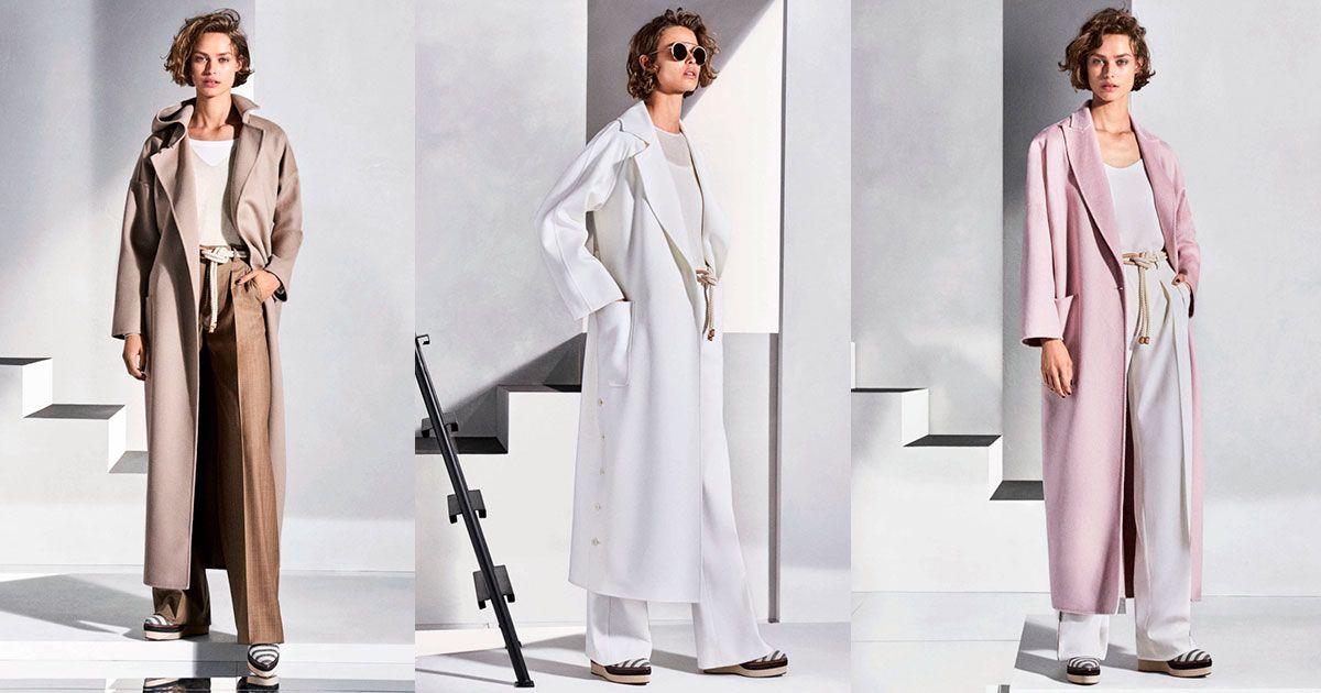 Модные пальто 2018: фото, тенденции, подиумные новинки