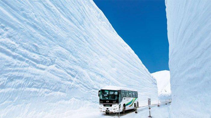 «Крыша Японии» — самая снежная дорога в мире
