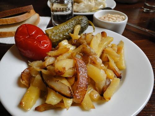 Жареная картошечка или кулинарный садизм по сибирски.