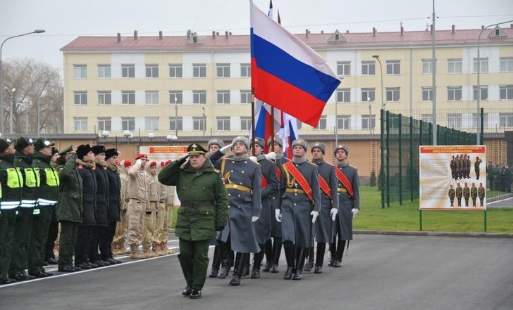 Новый учебный центр военной полиции во Владикавказе принял первых курсантов