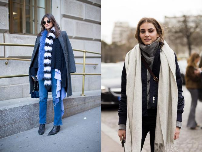 Ультрамодные шарфы этой зимы