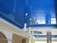 Голубой потолок 8