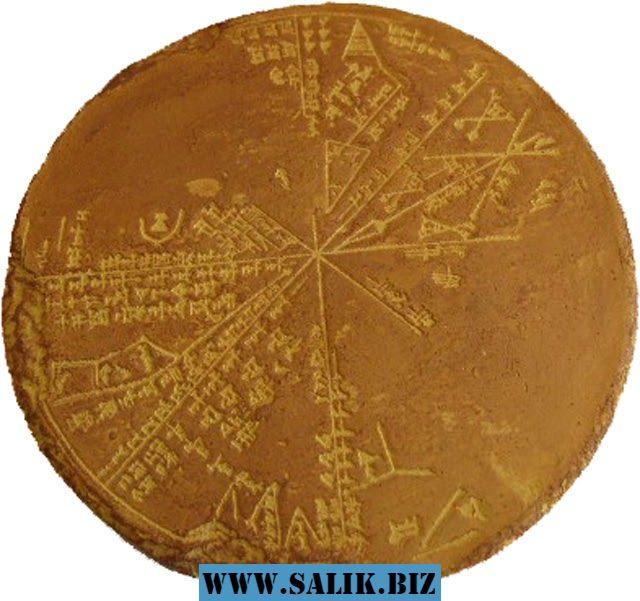 Планисфера - Шумерская звездная карта