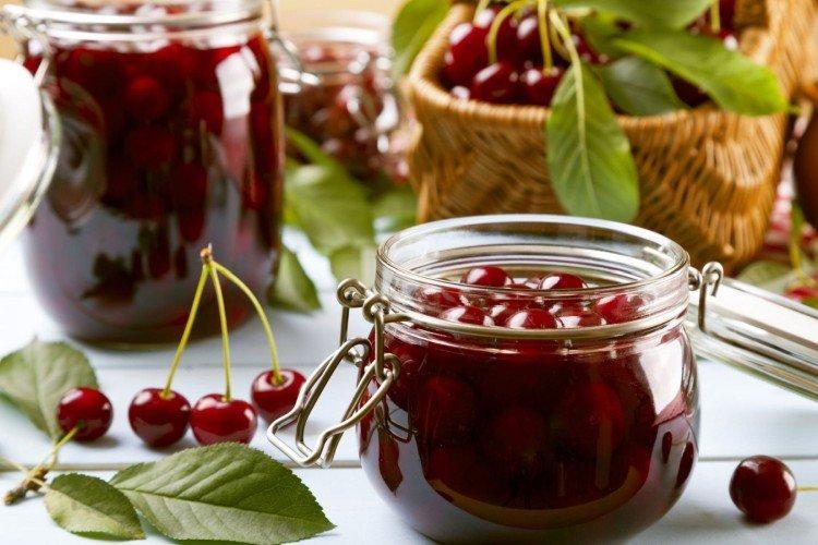 Варенье из белой черешни и вишни