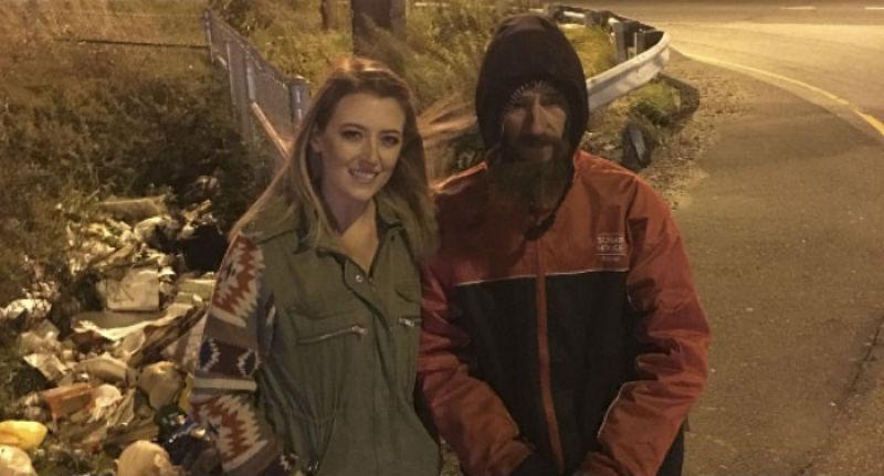 Девушка собрала 200 000 долларов для бездомного, который потратил на нее последние 20 долларов
