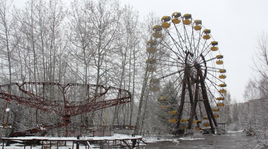 попасть в Чернобыль