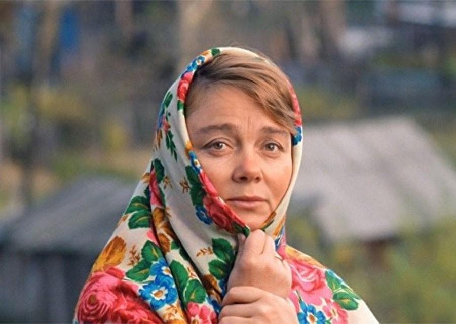 """Надя Кузякина из """"Любовь и голуби"""". Фотопробы"""