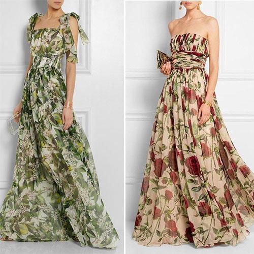 Лето 2018: 20 превосходных образов с цветочными платьями для каждой модницы