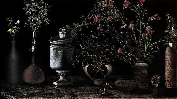 Самобытная живопись и графика от художника фильма «Сталкер» — Рашида Сафиуллина