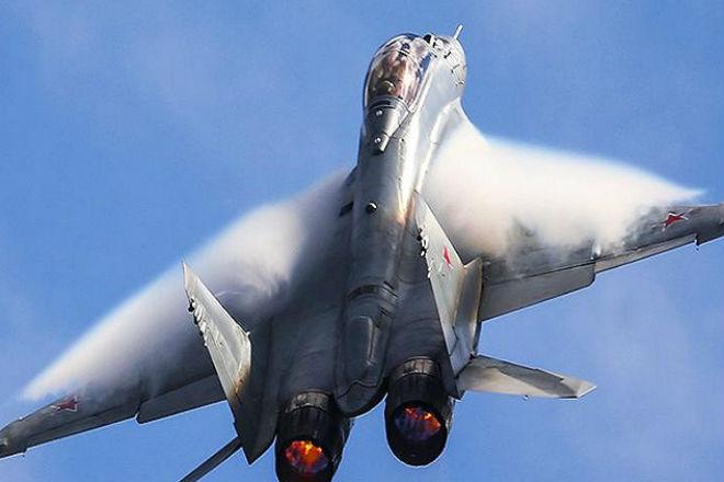 Вертикальный взлет новейшего МиГ-35