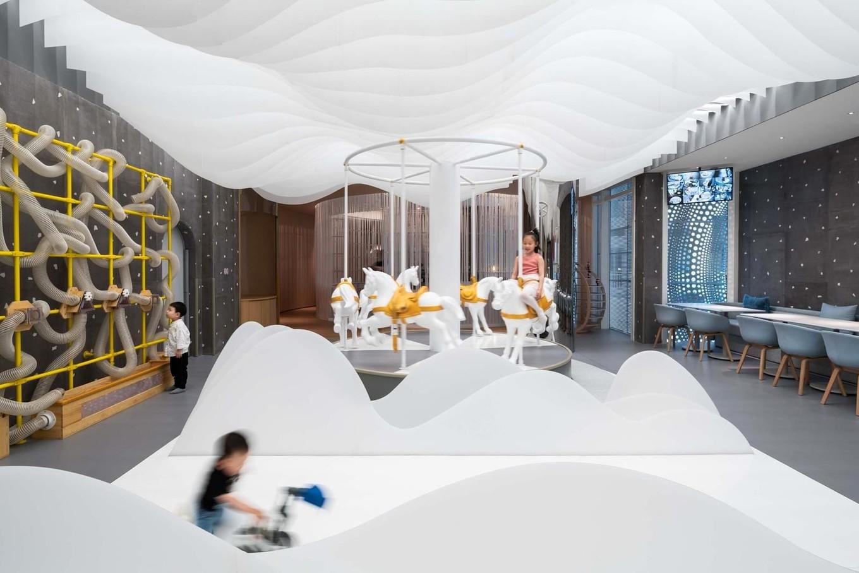 Интерьер Детского кафе в Китае