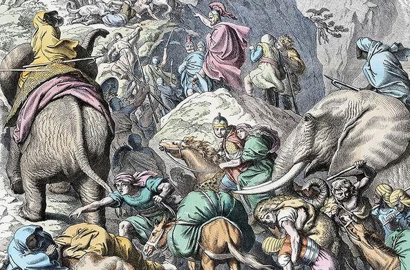 Слоны и навоз показали, как Ганнибал перешел через Альпы