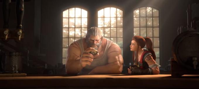Короткометражка «Честь и слава» о Райнхардте из Overwatch