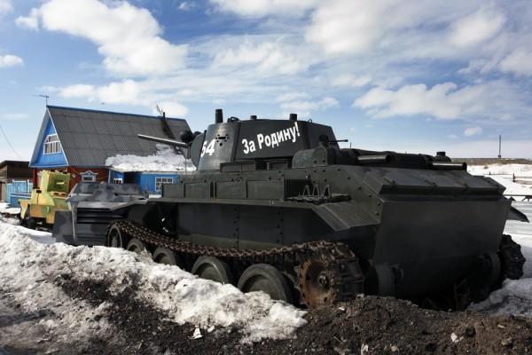 Как Вячеслав Веревочкин танковый завод в деревне построил